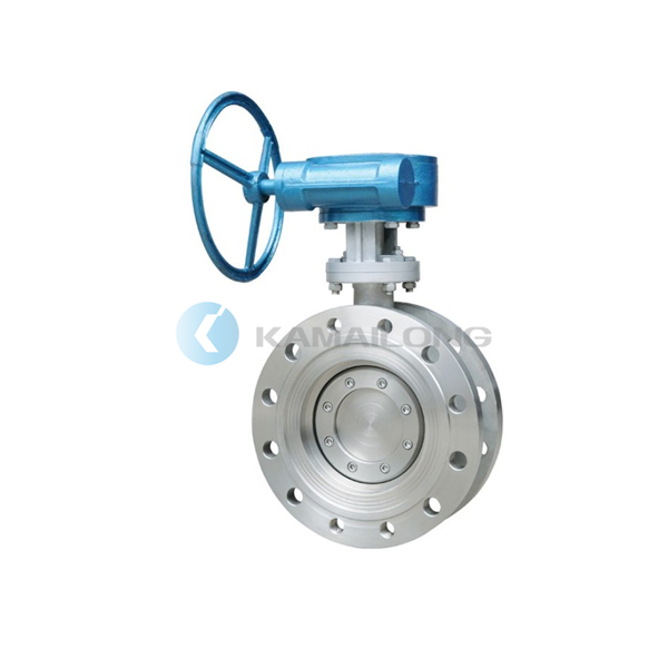 Triple Offset Butterfly Valve,Metal to Metal Seated,Flange type